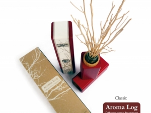 Aroma Log Diffuser home fragrance